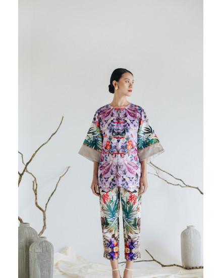 [PRE ORDER] KIMEYA Jacket - Lilac Flora