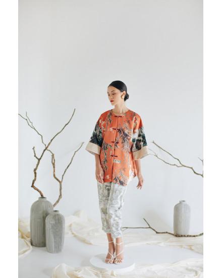 [PRE ORDER] KIMEYA Jacket - Terracotta Crane