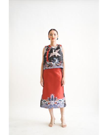 Lian Skirt Terrracotta