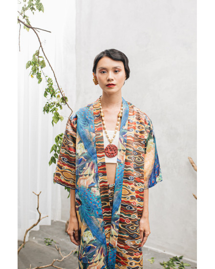 MAYLEEN Outer - Blue Peacock