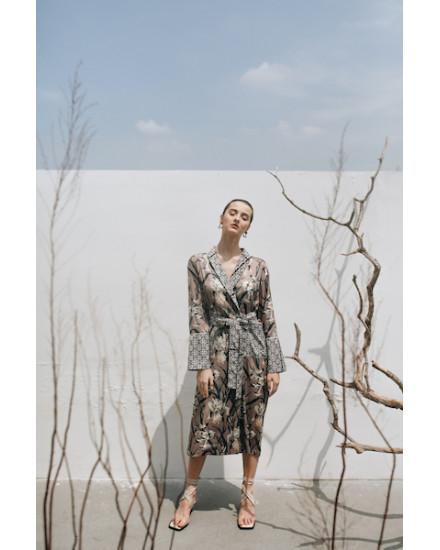 ALINA MAUVE DRESS