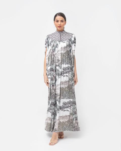 ADENA DRESS BROKEN WHITE